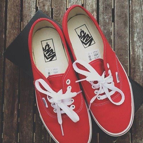 Red vans | Shoes, Shoe boots, Vans shoes