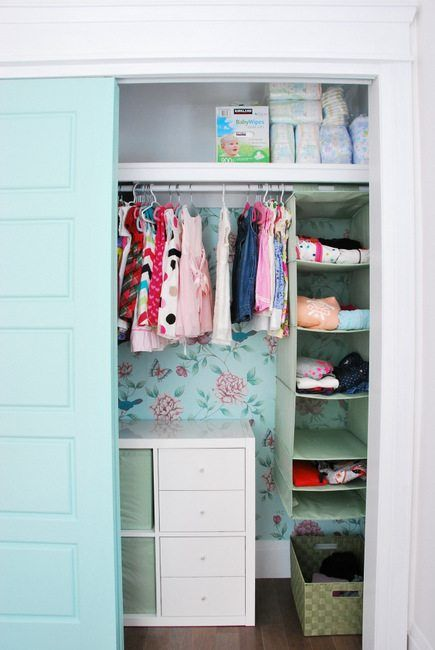 Marvelous How To Create A Pretty And Functional Kids Closet (on A Budget | Kid Closet,  Diy Shelving And Ikea Kallax