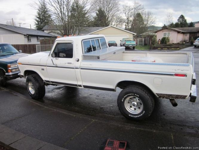Ford Highboys 1976 Ford Highboy Price 3000 00 For Sale In Springfield Arkansas Classic Ford Trucks Old Ford Trucks Ford Pickup Trucks
