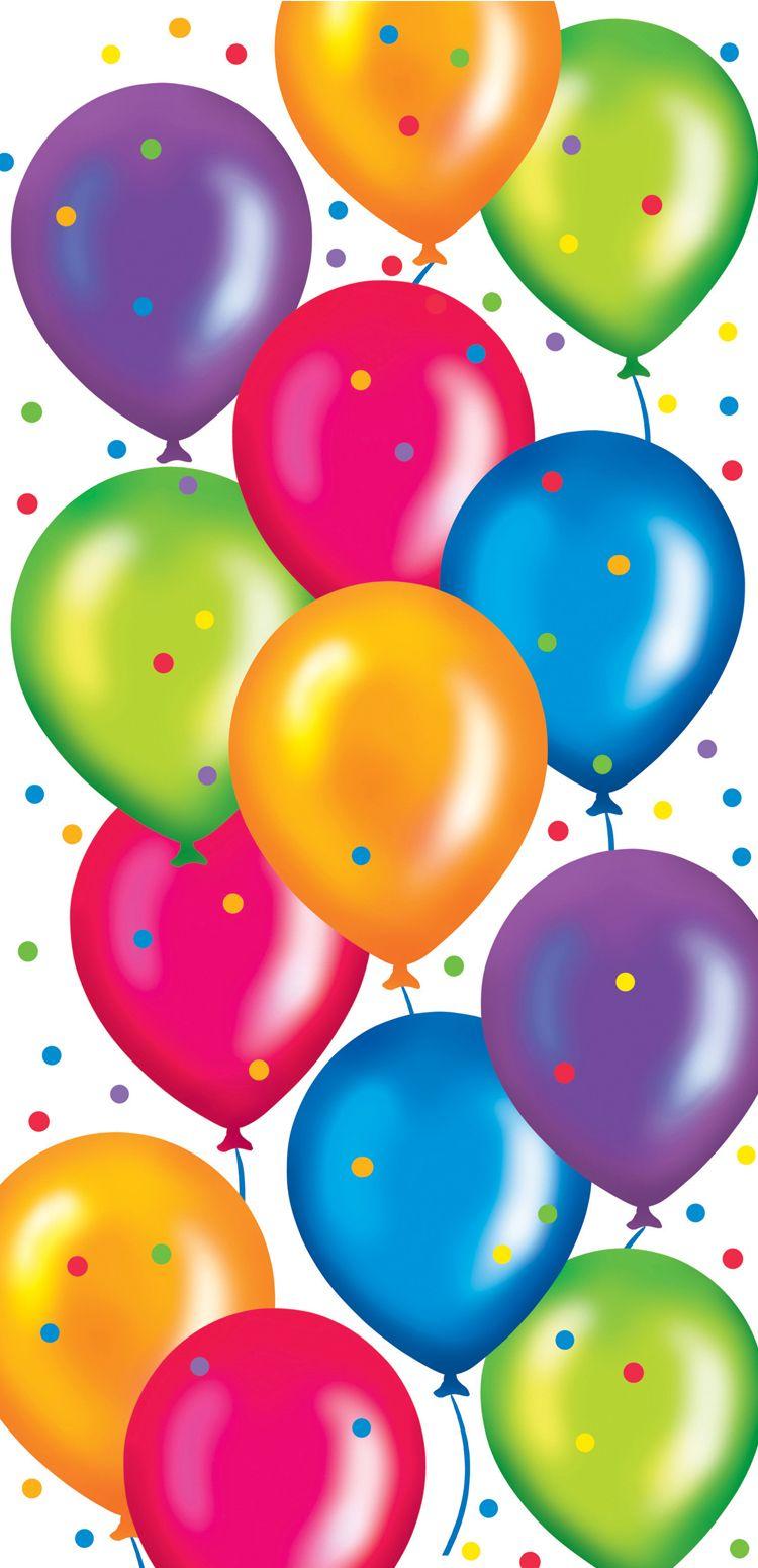 Real birthday balloons wonderful background - Happy birthday balloon images hd ...