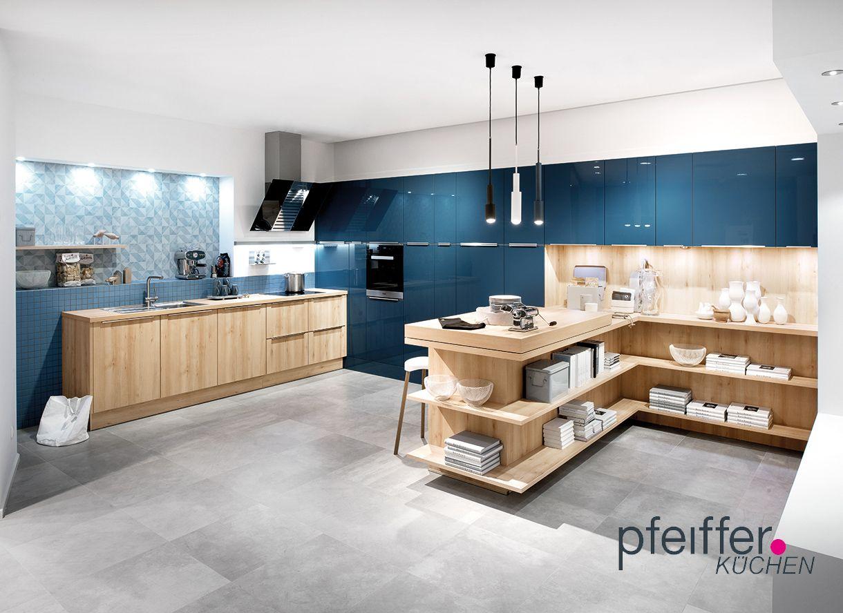 Farben in der Küche bringen Lebensfreude! - In der Farbe Blau der ...