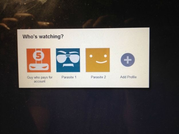 One Picture That Perfectly Describes Your Shared Netflix Account The Funny Funny Hilarious