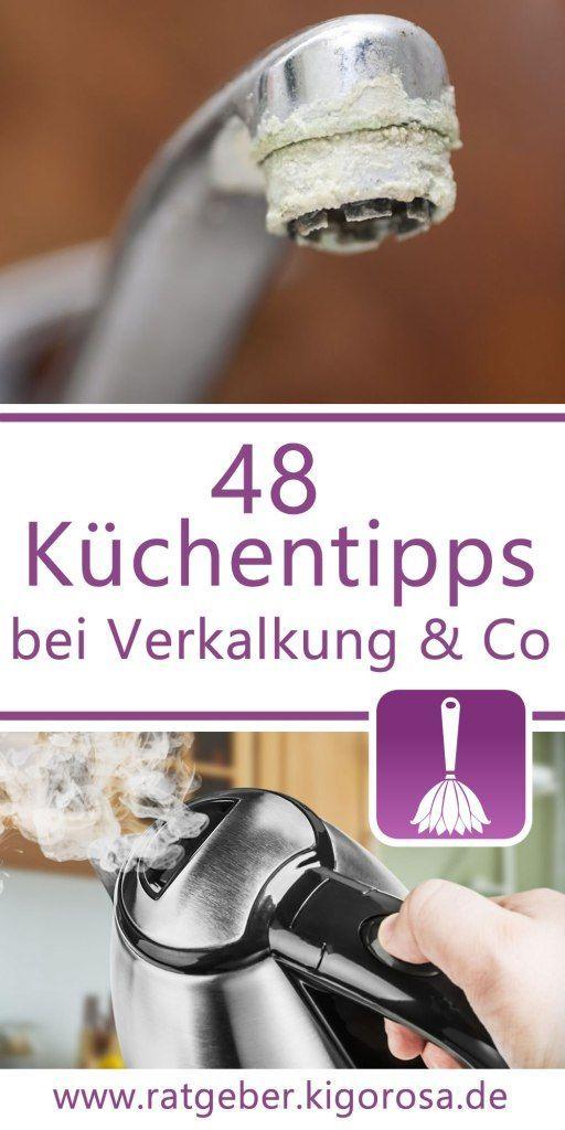 48 Tipps & Tricks für das Putzen in der Küche #kitchentips
