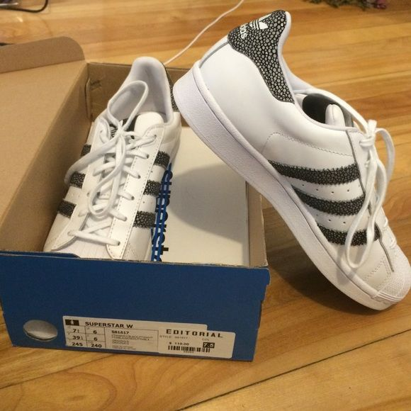 Stan Smith Adidas Superstar Originale Scarpe Di Vendita!Nwt Mio Elegante