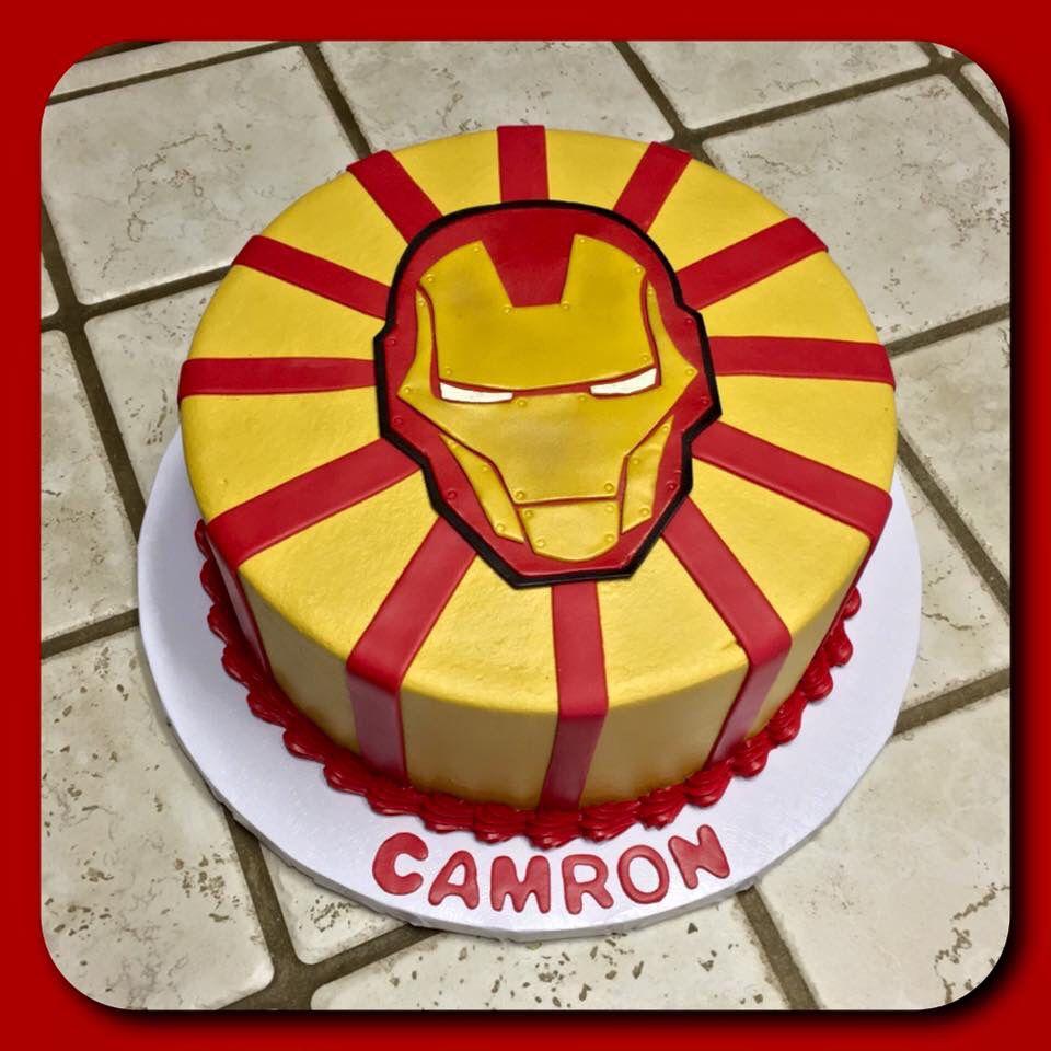 Phenomenal An Iron Man Layer Cake With Images Ironman Cake Iron Man Personalised Birthday Cards Akebfashionlily Jamesorg