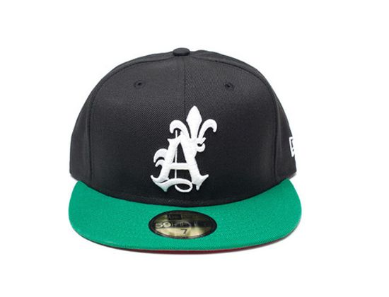 Black Seal 59Fifty Fitted Cap by SAINT ALFRED