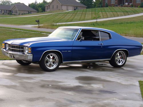 Purchase New 1971 Chevelle Malibu Show Car In Fayetteville Tennessee United States