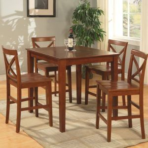 Oak Pub Style Kitchen Table Pub Table Sets In 2018 Pinterest