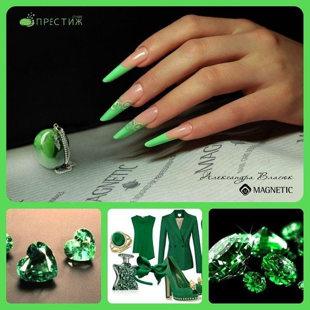Nails by Olexandra Vlasiuk | Stiletto nails | Pinterest | Uñas ...
