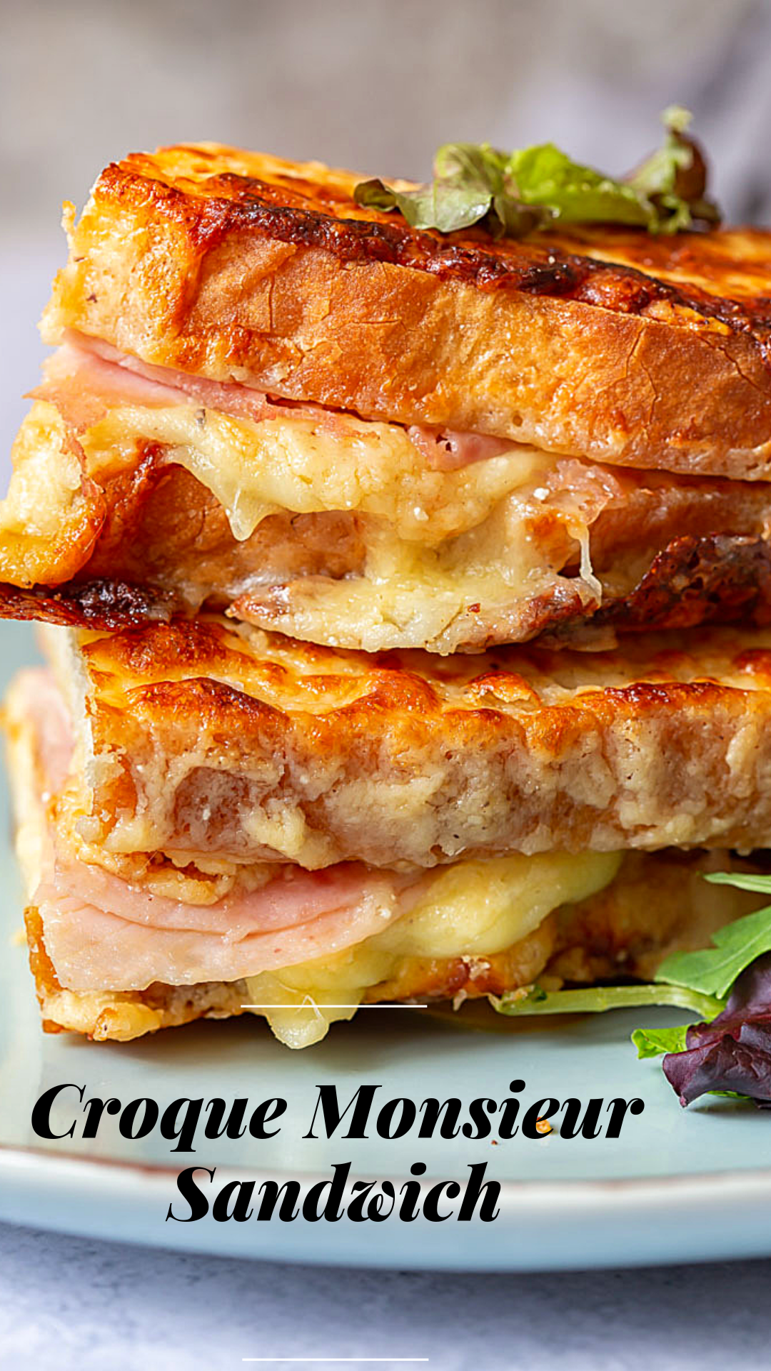 Croque Monsieur Sandwich Delicious Sandwiches Croque Monsieur Recipes