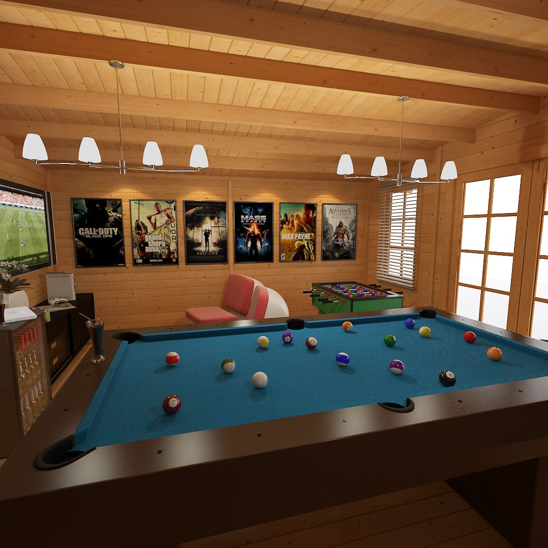 Luxury Man Cave Game Room Bar With Images: Garden Cabins For Sale