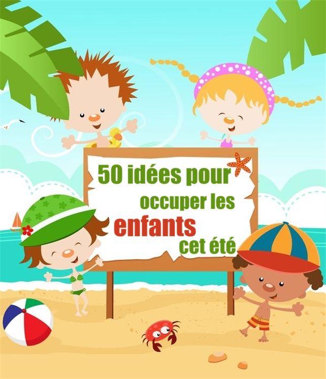 50 idées pas chères et amusantes pour occuper les enfants en été !