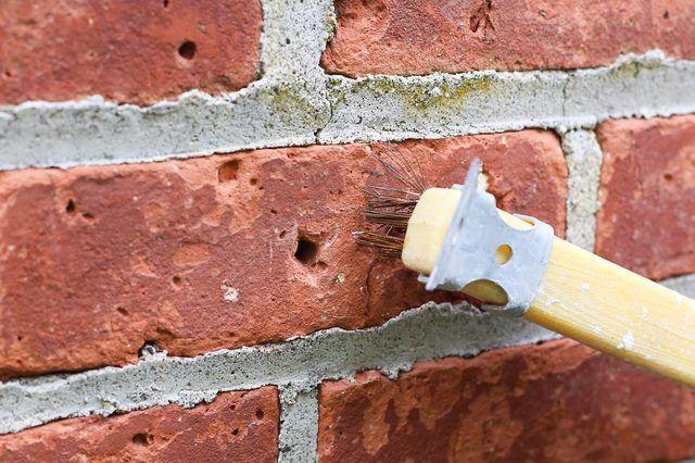 How To Patch Holes In A Brick Wall Brick Wall Brick Repair Diy Exterior Brick