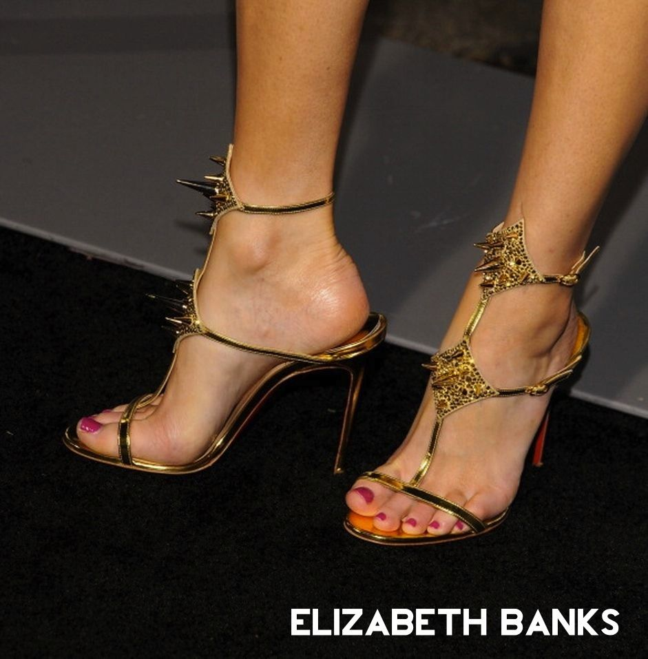 7ed08c3a17e5 Elizabeth Banks Feet  celebrityfeet Sexy Sandals