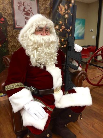 No one is gonna mess with the jolly man this year!  _____________________________________________ Don't Forget 10% off all inventory is going till 2015!  #OTG #OnlineTacticalGear