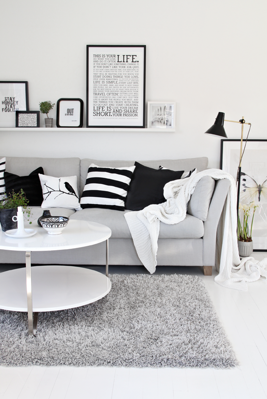 Design Star. White Living RoomsLiving Room IdeasBlack ...