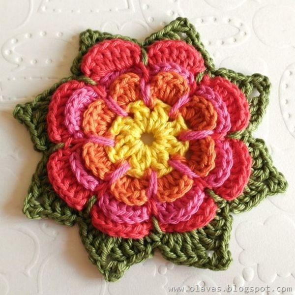 Olavas Verden: Flower pattern – in english… :O) by zelma | Love ...