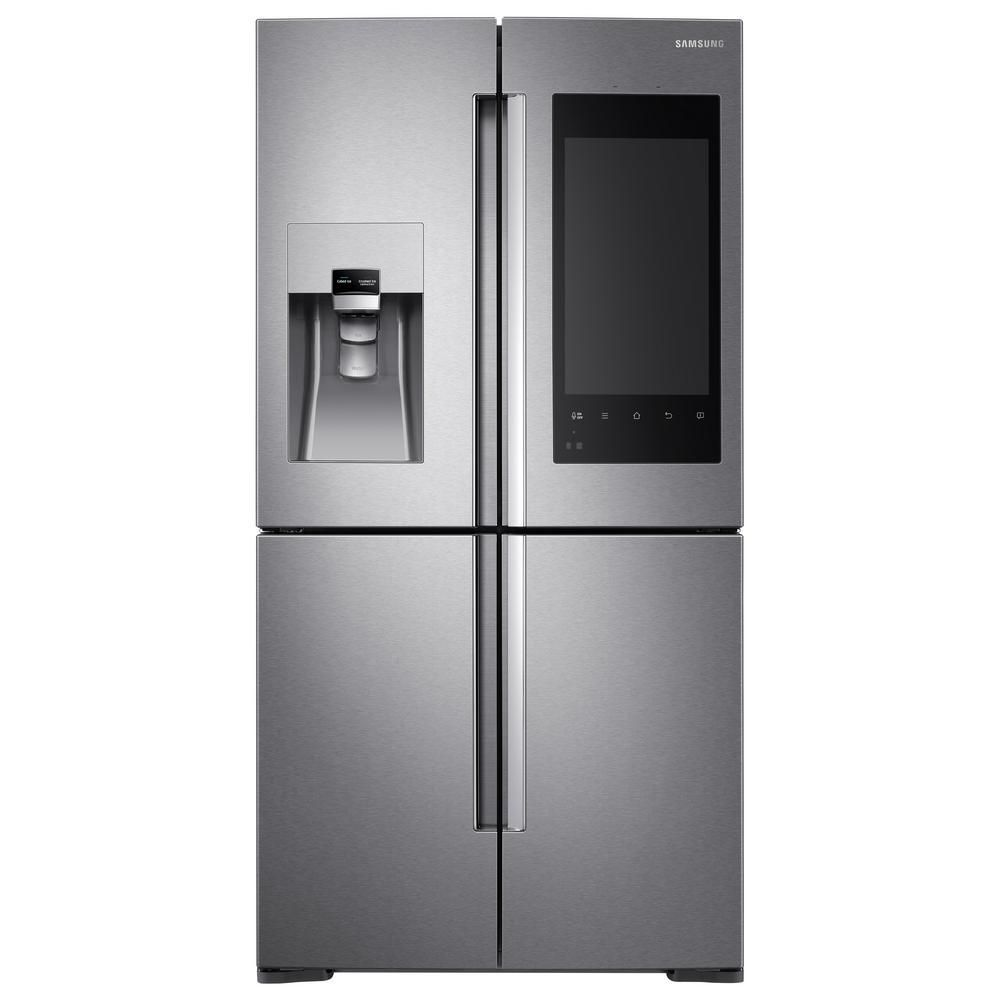 Samsung cu ft family hub door flex french door refrigerator