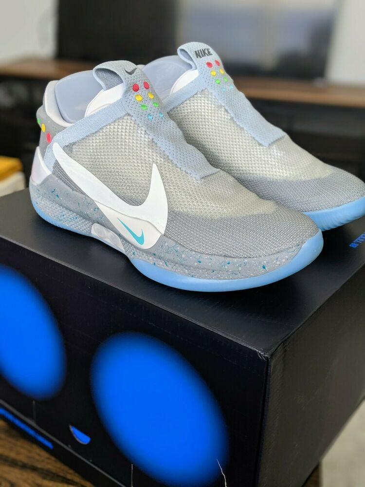 new appearance affordable price newest Details about Nike Adapt BB Size 11.5 Wolf Grey AO2582-002 ...