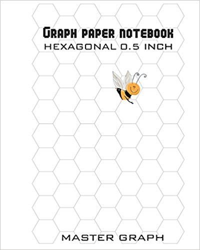 Graph Paper Notebook 100 Pages Octagon 1 Inch Master Graph - octagon graph paper