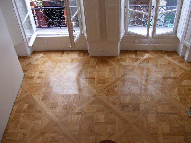 Parquet Flooring Oak parquet flooring, Flooring