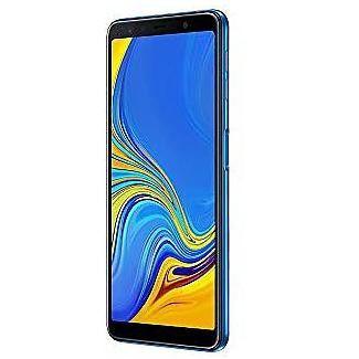"""Samsung Galaxy A7 2018 64GB 4GB RAM 6.0"""" 24.0 MP GSM Unlocked Smartphone - Blue"""