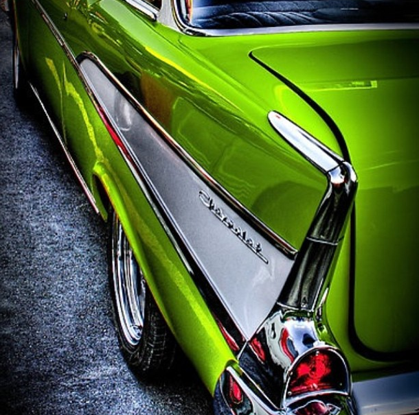 How does this BASF R-M Carizzma Candy Green look to you on this Chevy? #candypaint #carizzma #basfpaint #sema2013 #green #greenpaint #instacar #chevy