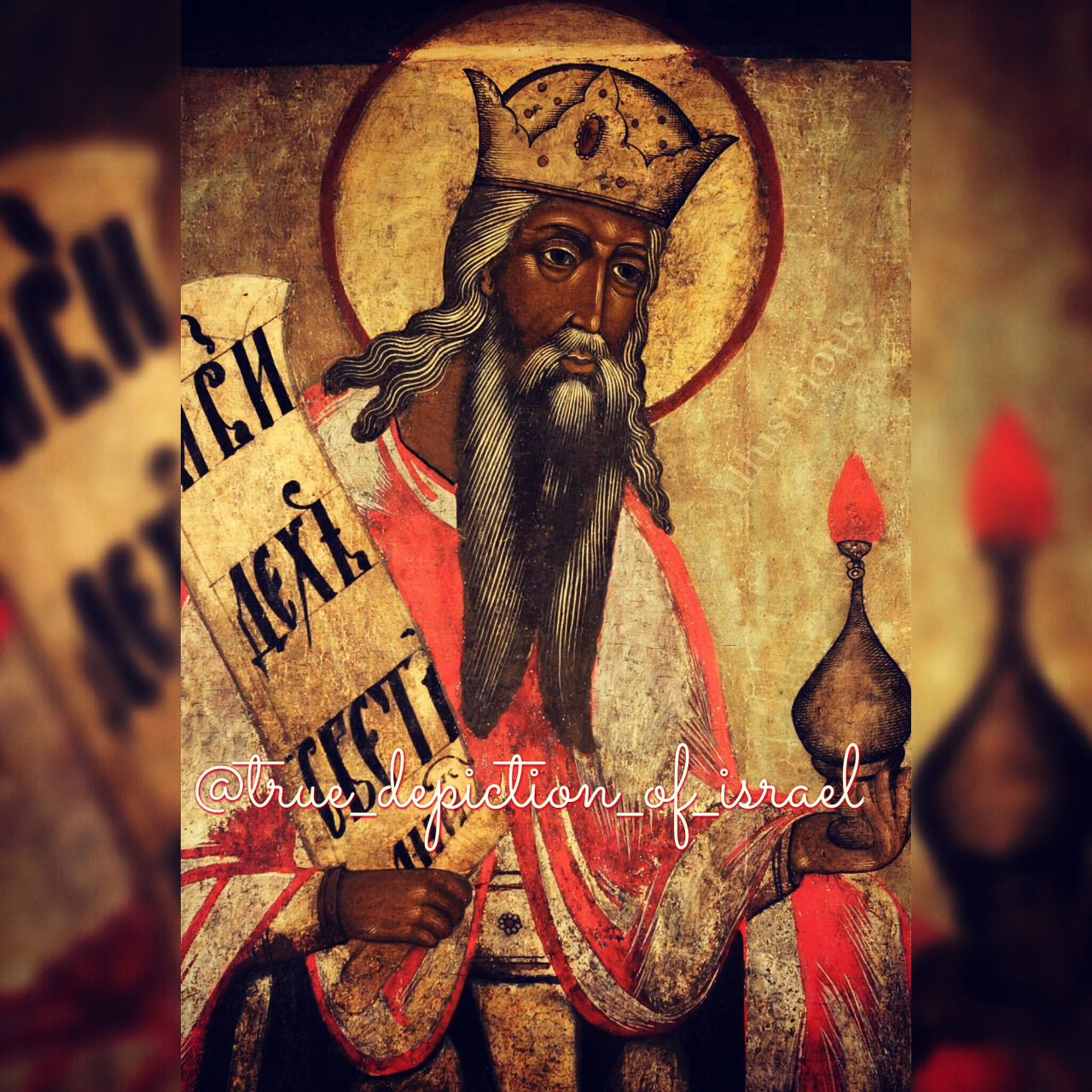 Zechariah, North Russia (17th c.)   Ancient paintings, Black ...