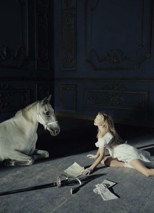 Kate Moss by Tim Walker for Vogue Italia December 2015