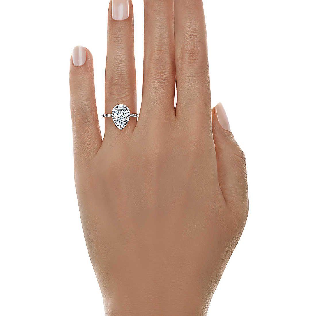 0967ef9eb Tiffany Soleste® Pear Shape Halo Engagement Ring with Diamond Band ...