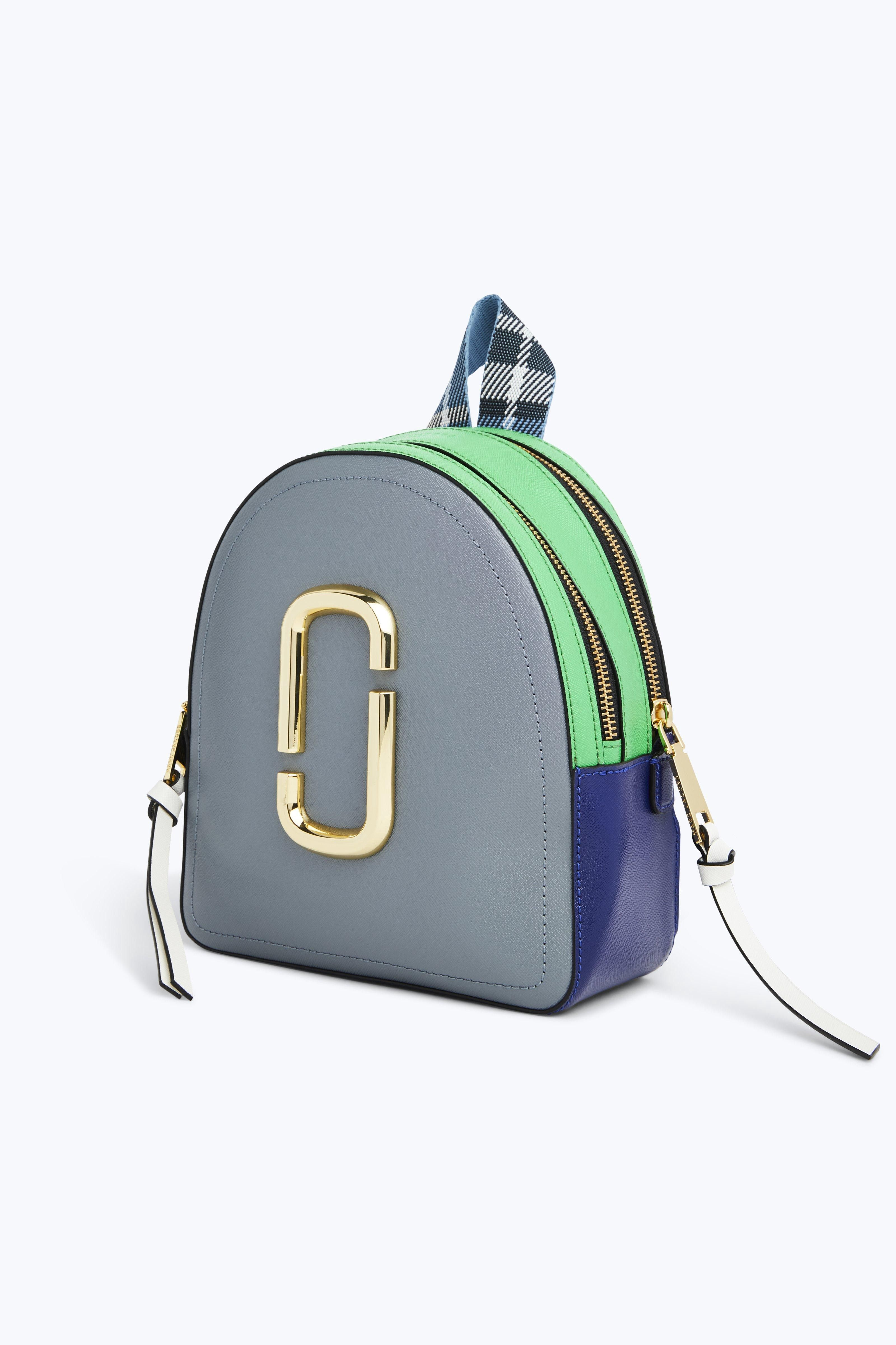 6b3195e794446 Marc Jacobs The Pack Shot - Academy Blue Multi Pink