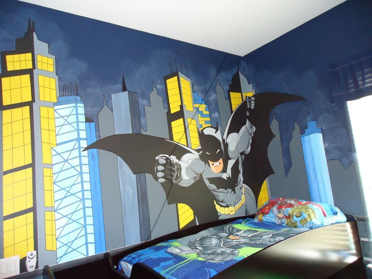 Batman Decorations For Bedroom Interior House Paint Colors Check More At Http