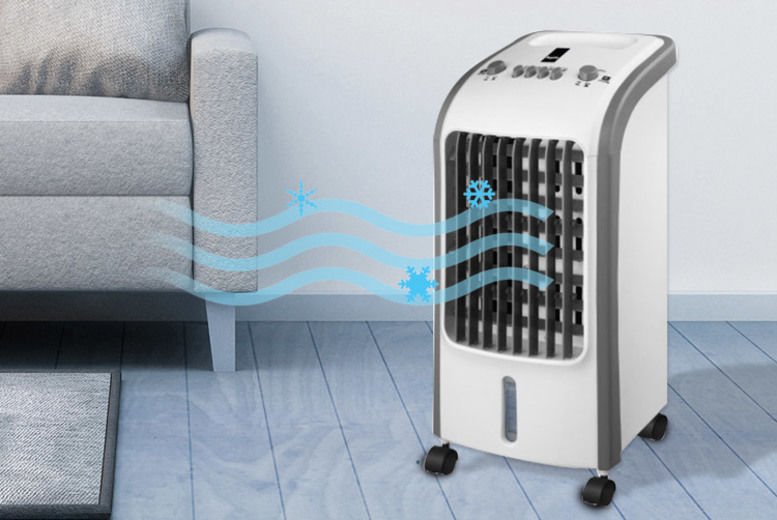 3Speed Portable Air Cooling Unit London Wowcher
