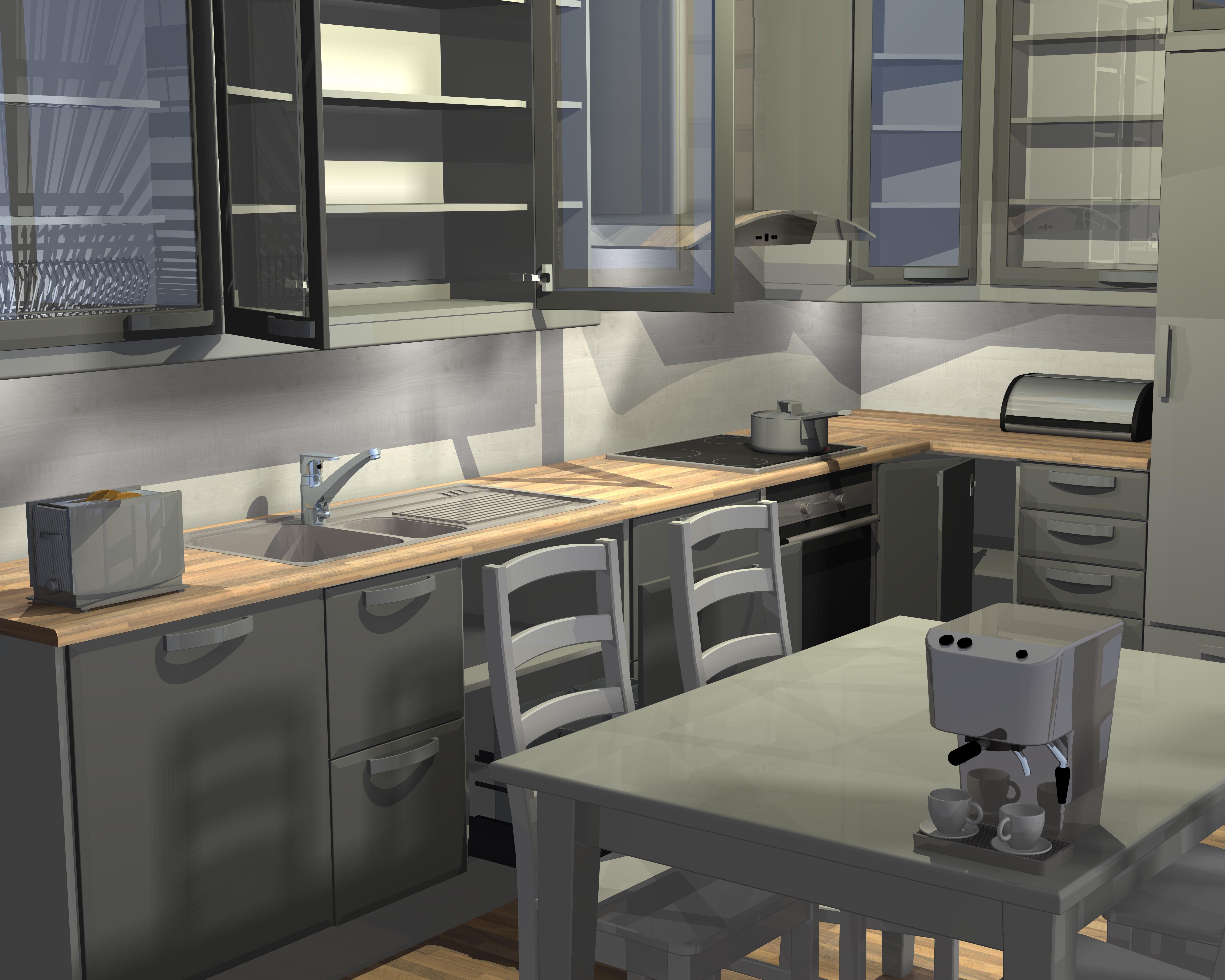 Vertex InD Kitchen Design Software Design examples