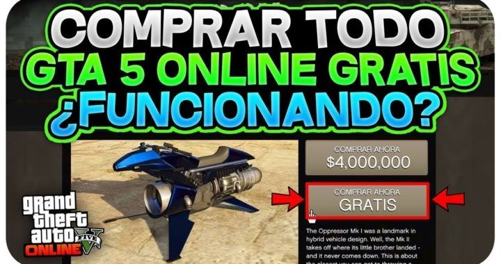 NUEVO TRUCO COMPRA TODO GTA 5 ONLINE GRATIS! *INFO