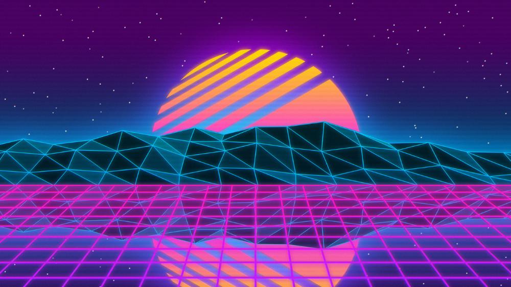 Vaporwave In 1366x768 Resolution Vaporwave Wallpaper Vaporwave Anime Wallpaper