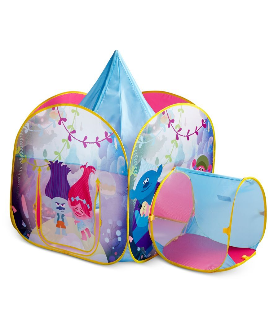 Activate their imaginations with this playtime-perfect Trolls tent from Play-Hut featuring a cool tunnel-style entrance.  sc 1 st  Pinterest & Activate their imaginations with this playtime-perfect Trolls tent ...
