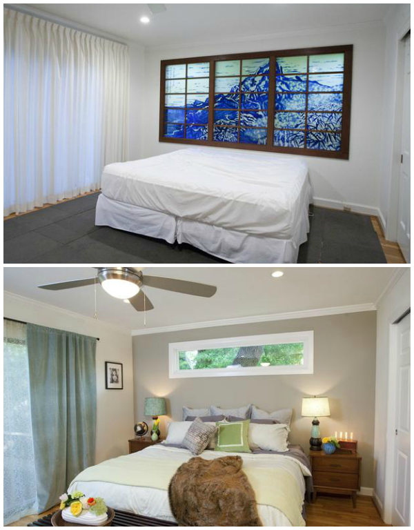Property brothers bedroom before and after home renovation for Brothers bedroom ideas