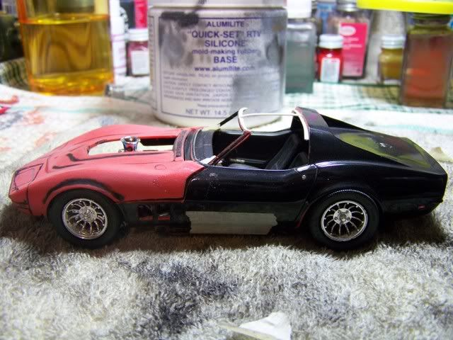 """Corvette Summer"""" Move Car Making of an Icon in resin. Description from cs.scaleautomag.com. I searched for this on bing.com/images"""