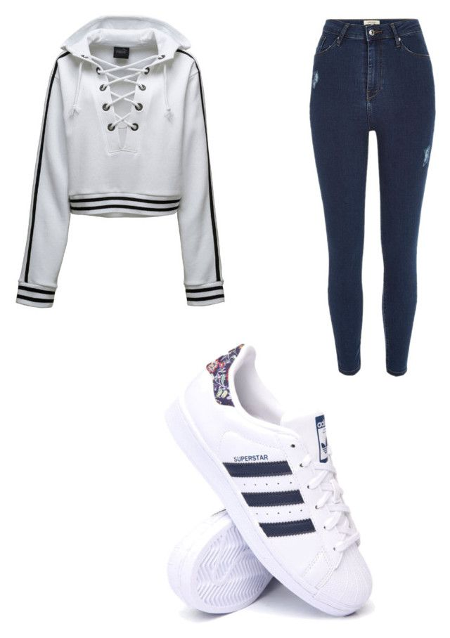 """Adidas👟👟"" by cbr-style on Polyvore featuring Puma, River Island and adidas"