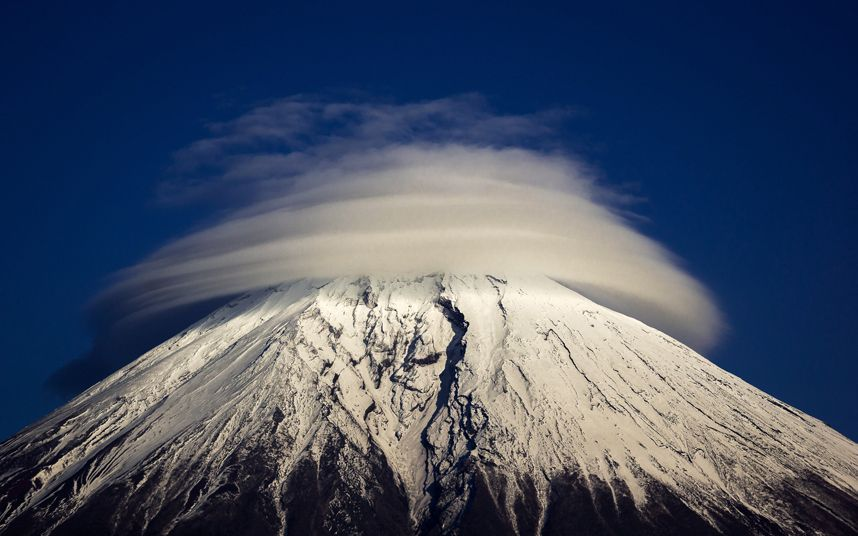 Pictures Of The Day 14 January 2015 Lenticular Clouds Love The