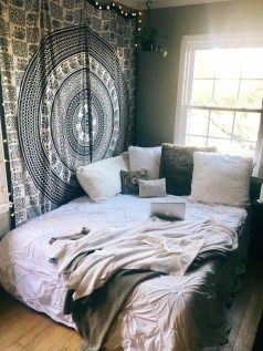 Aesthetic home decor tumblr bedroom diy bed sheets room also rh pinterest