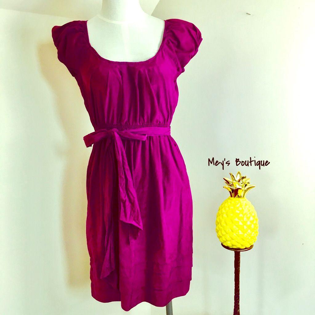 American Eagle Purple Dress With Pockets