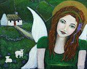 Fiona From Ireland, An Earth Angel Original Fine Art