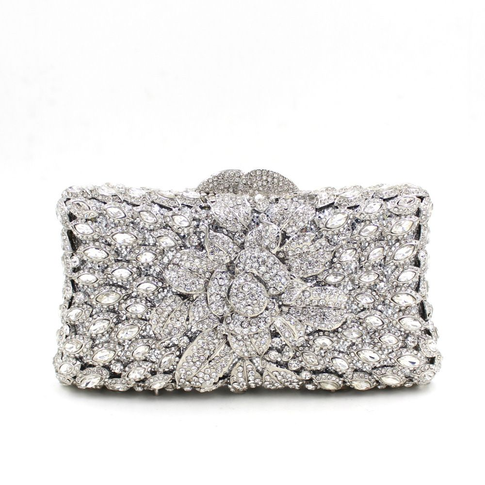 2017 Time Limited Promotion Minaudiere Evening Clutch Bags Mini Size Women Purse For Wedding Days