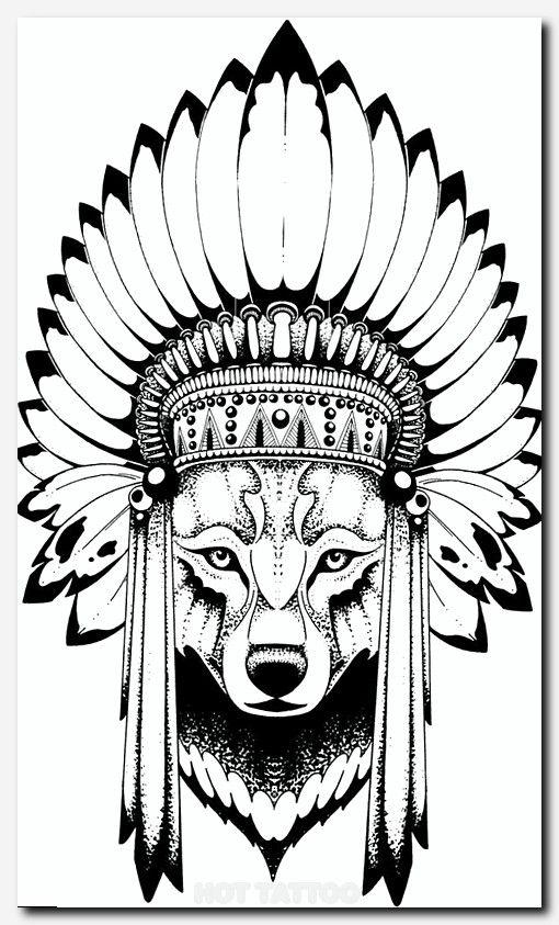Tattoos Hot Tattoo Tatuagem India Com Lobo Lobo Tatuagem Tatuagem