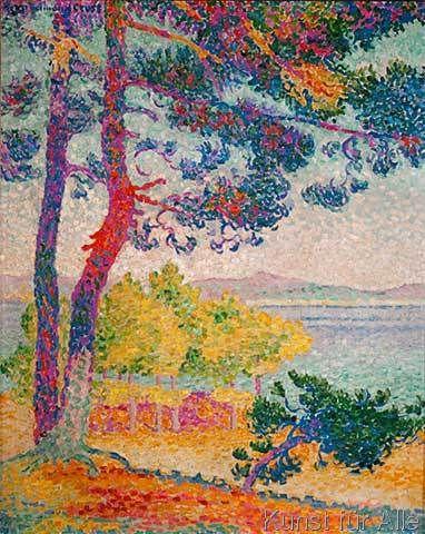 Henri-Edmond Cross - Apresmidi a Pardigon
