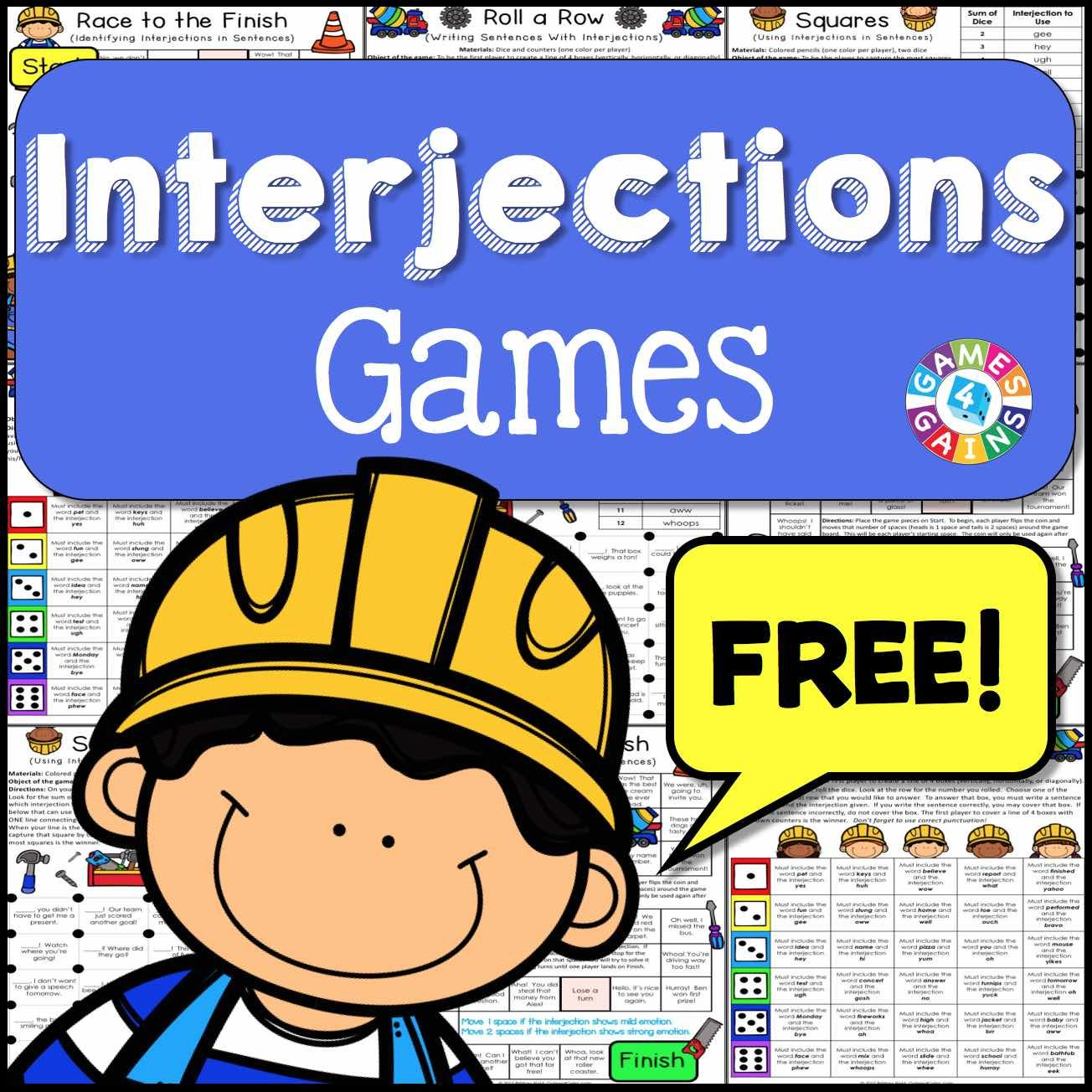 14 ELA: Interjections ideas   interjections [ 1304 x 1304 Pixel ]