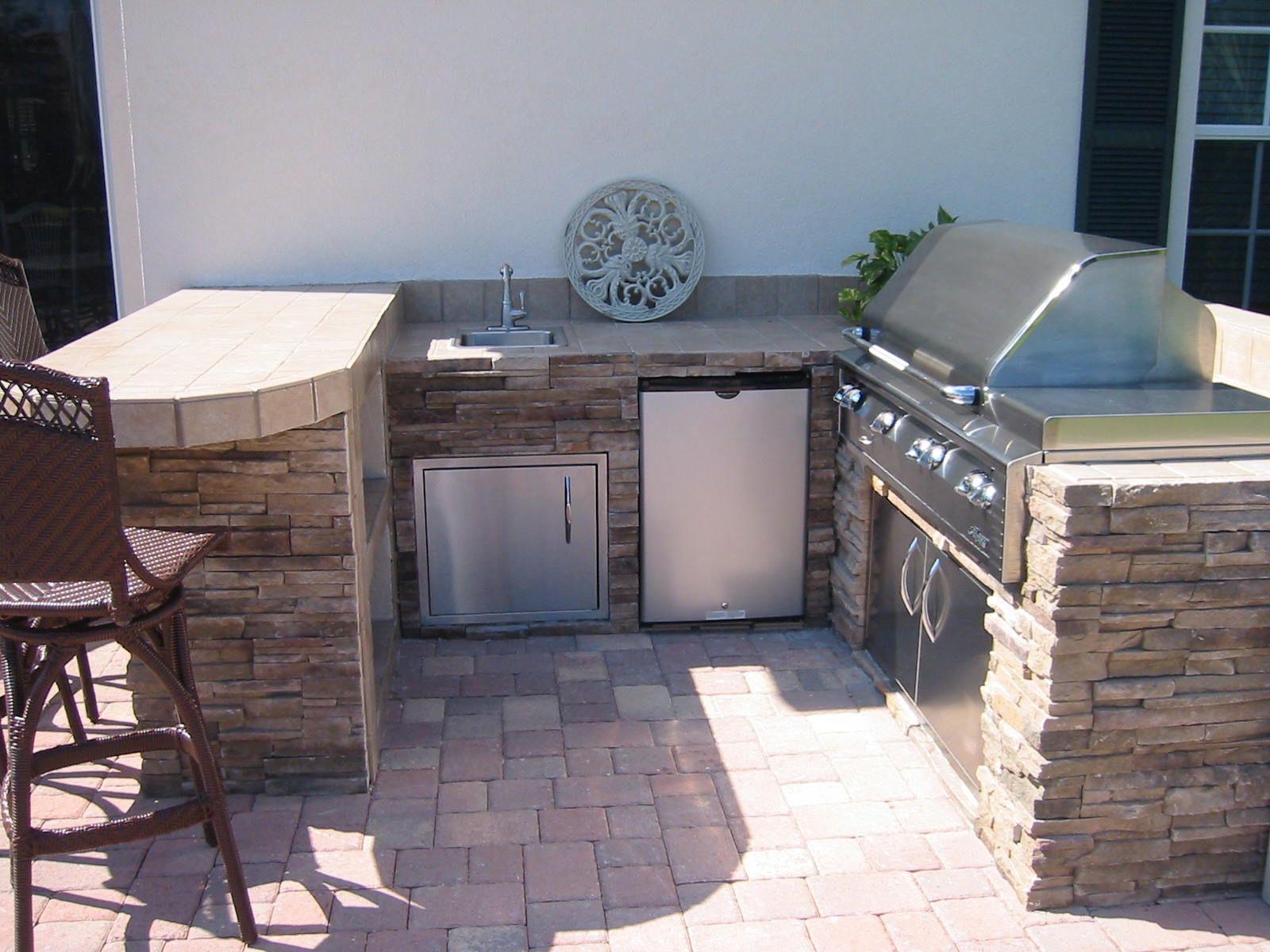 Outdoor Summer Kitchen Built In Outdoor Grill Designs Infrared Built In Outdoor Kitchen