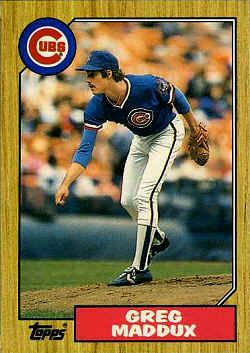 1987 Topps Traded Card 70t Greg Maddux Baseball Cards Sports Cards Cards